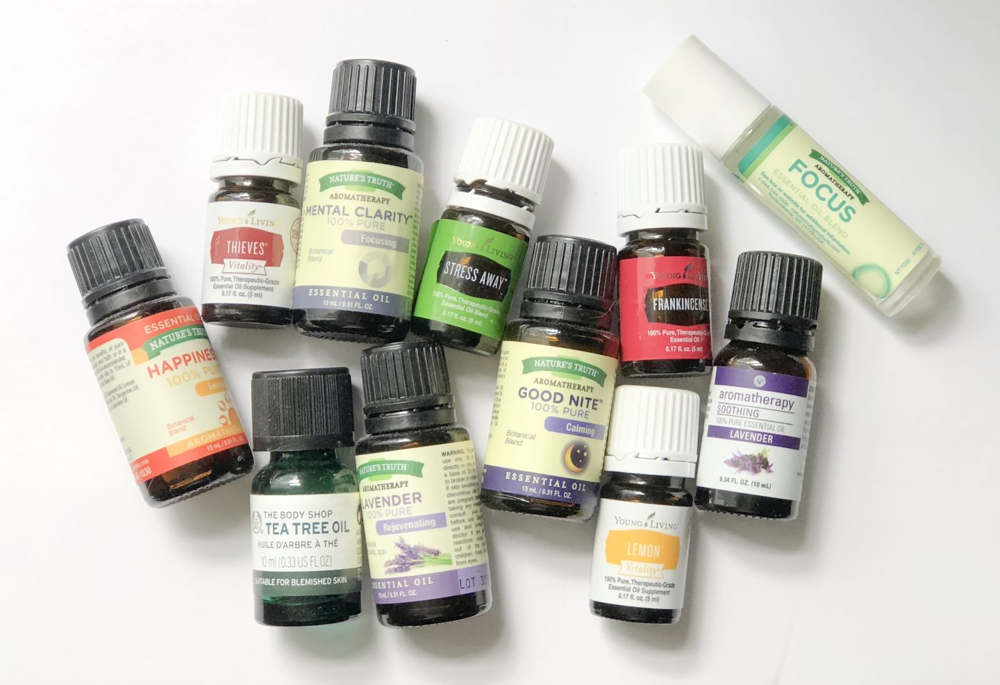 Top Five Friday: Essential Oils
